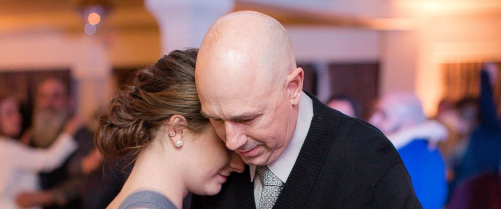 PHOTO: Jessica Otto and her dad, Peter Otto, share a dance at her best friends wedding.