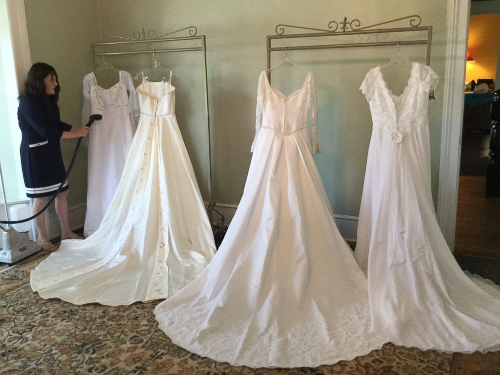 b64490ce8d1 81-year-old former boutique owner donates wedding dresses to flooded ...