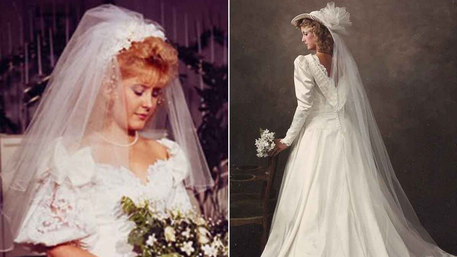 2 Strangers to Swap Wedding Dresses 30 Years After Mix-Up - ABC News