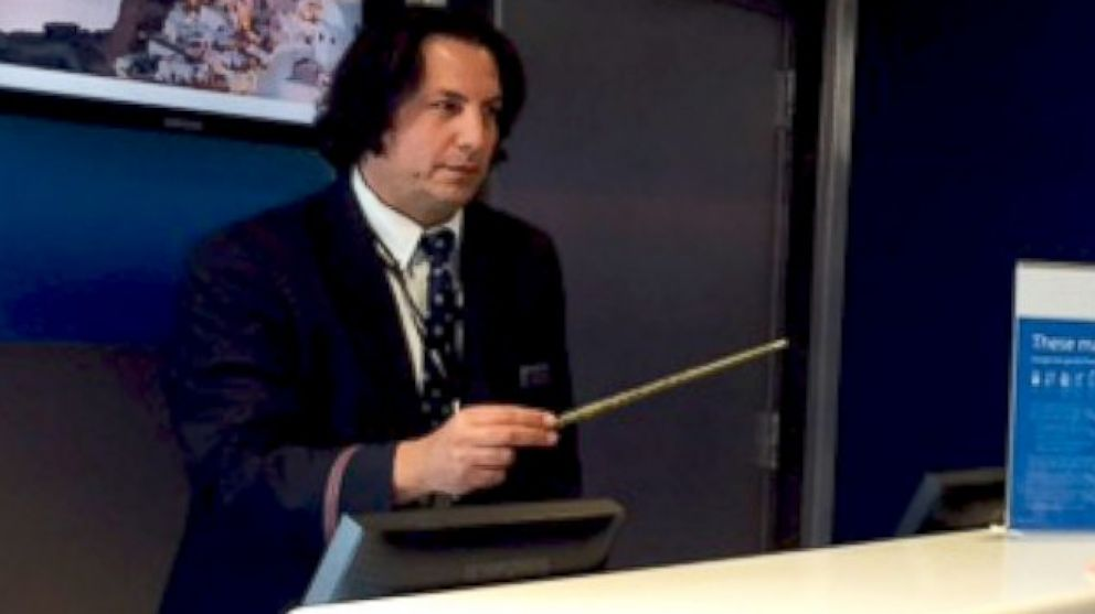 American Airlines Agent Dead Ringer For Snape From