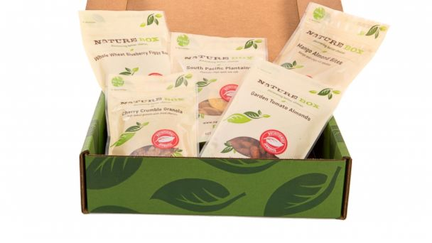 """PHOTO: NatureBox, a monthly snack delivery service or """"personal snack concierge,"""" gives the gift of convenience."""