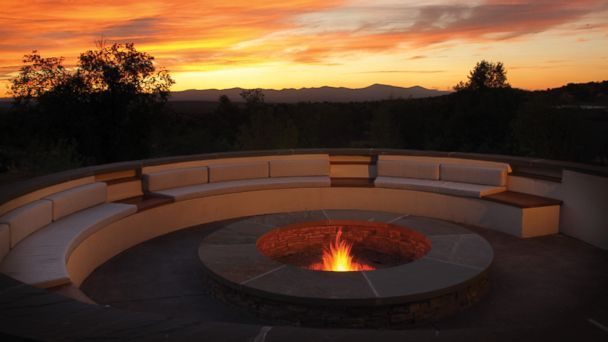 PHOTO: Firepit at Four Seasons Rancho Encantado