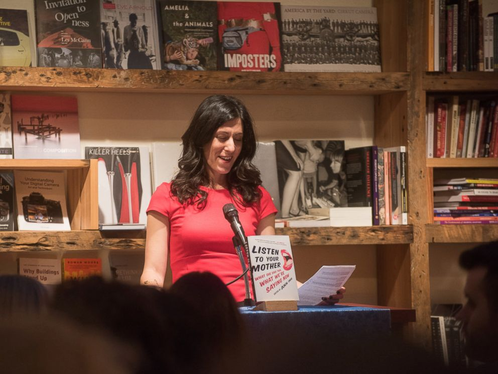 PHOTO: Listen to Your Mother Founder Ann Imig reads excerpt from new book.