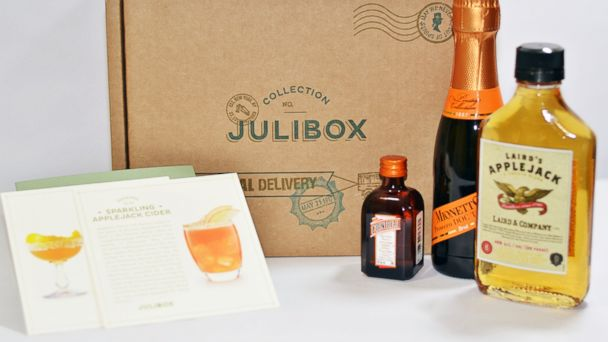 PHOTO: Julibox, a monthly cocktail subscription service, makes the perfect gift for anyone who likes to entertain at home.