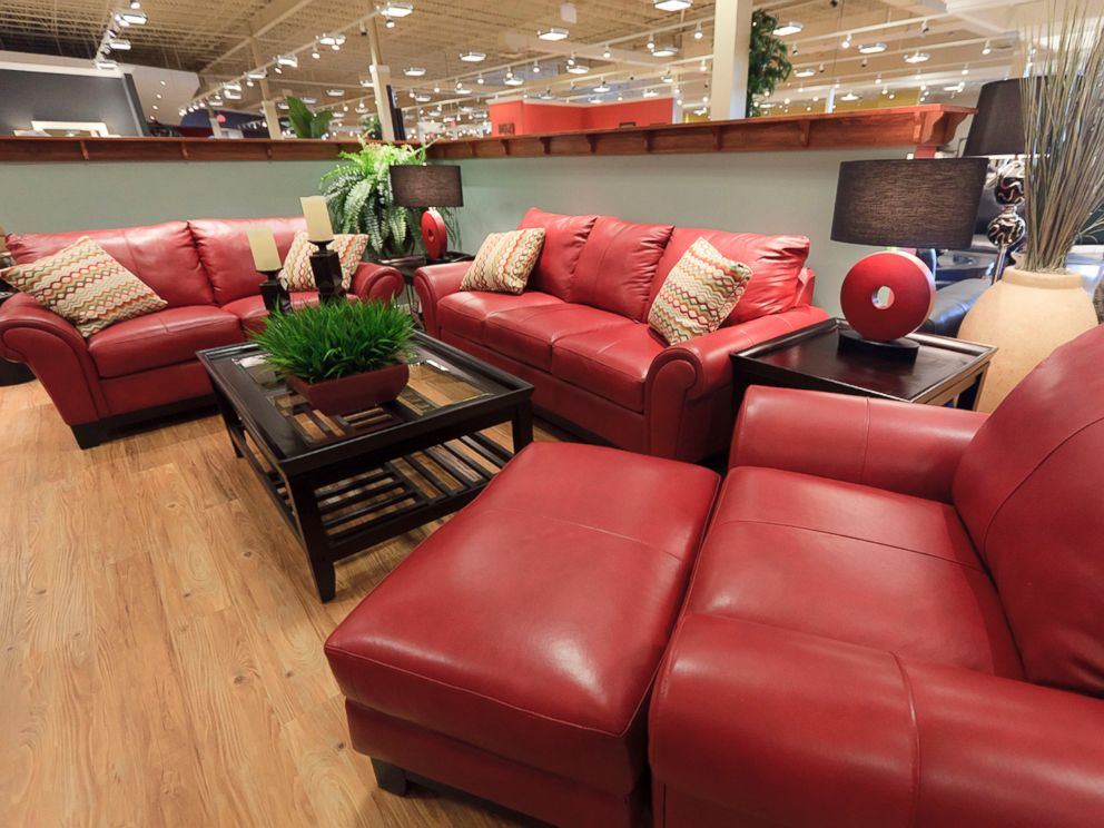 PHOTO: Furniture is displayed inside Morris Furniture Co.