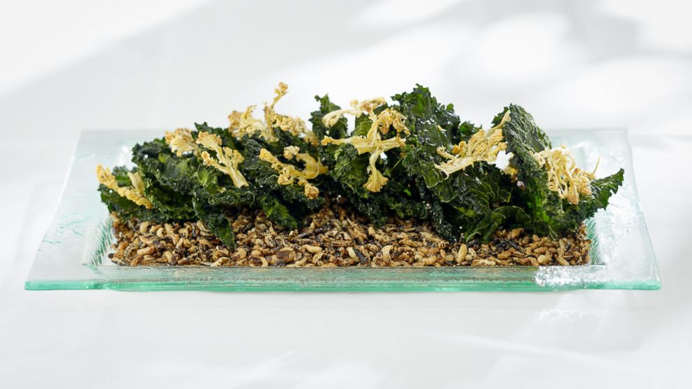 Wolfgang Puck's Kale and Cauliflower Chips