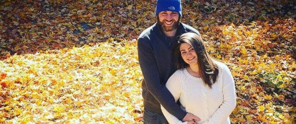 PHOTO: Chelsey Kimmel, pictures with her partner Jamie Cardinal, says April Fools pregnancy jokes arent funny.