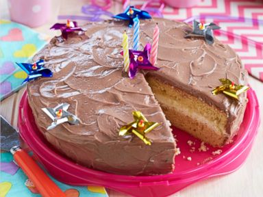 Birthday Cake Images And Recipes ~ Sweet and special birthday cake recipe zoe recipe abc news