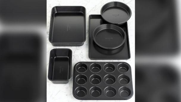 PHOTO: Simply Calphalon Nonstick 6-Piece Bakeware Set