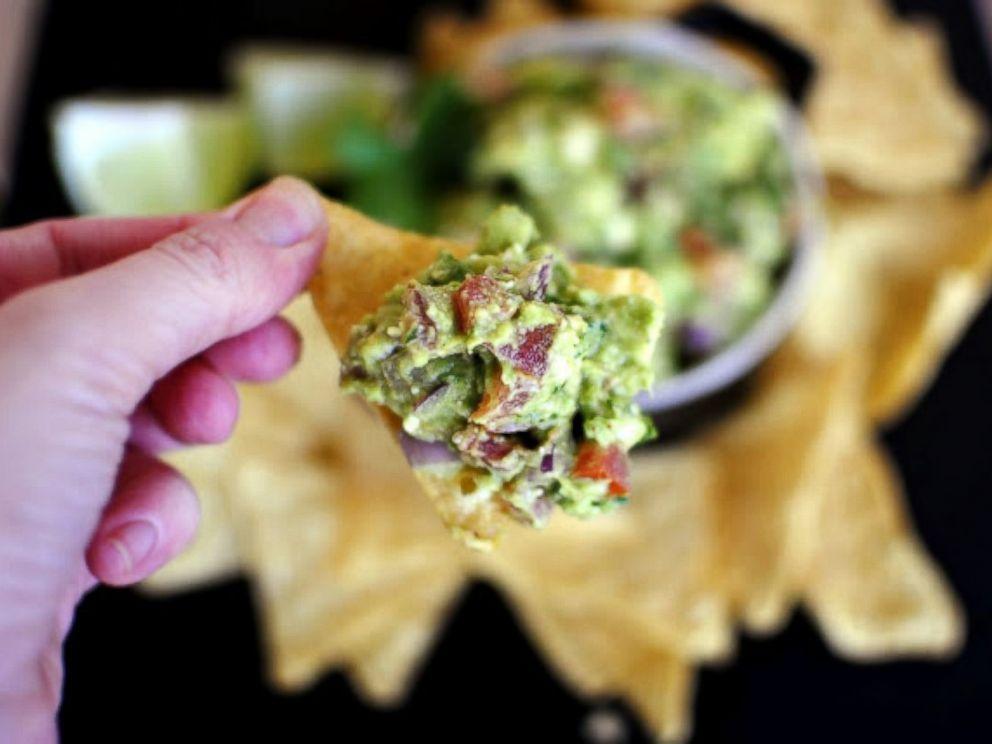 PHOTO: Bacon gorgonzola guacamole offers a fun twist on the avocado dip.