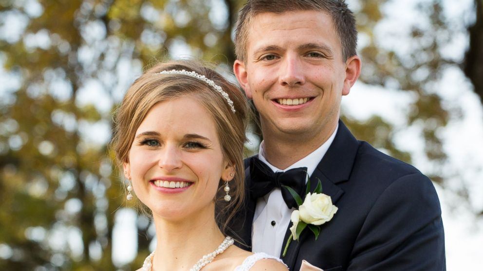 Greta Hokanson of Minnetonka, Minn. pictured with her husband Tony Hokanson on Oct. 10, 2015, their wedding day, . Honkanson was diagnosed with leukemia on Sept. 1, 2006 but received a bone marrow transplant in 2007.