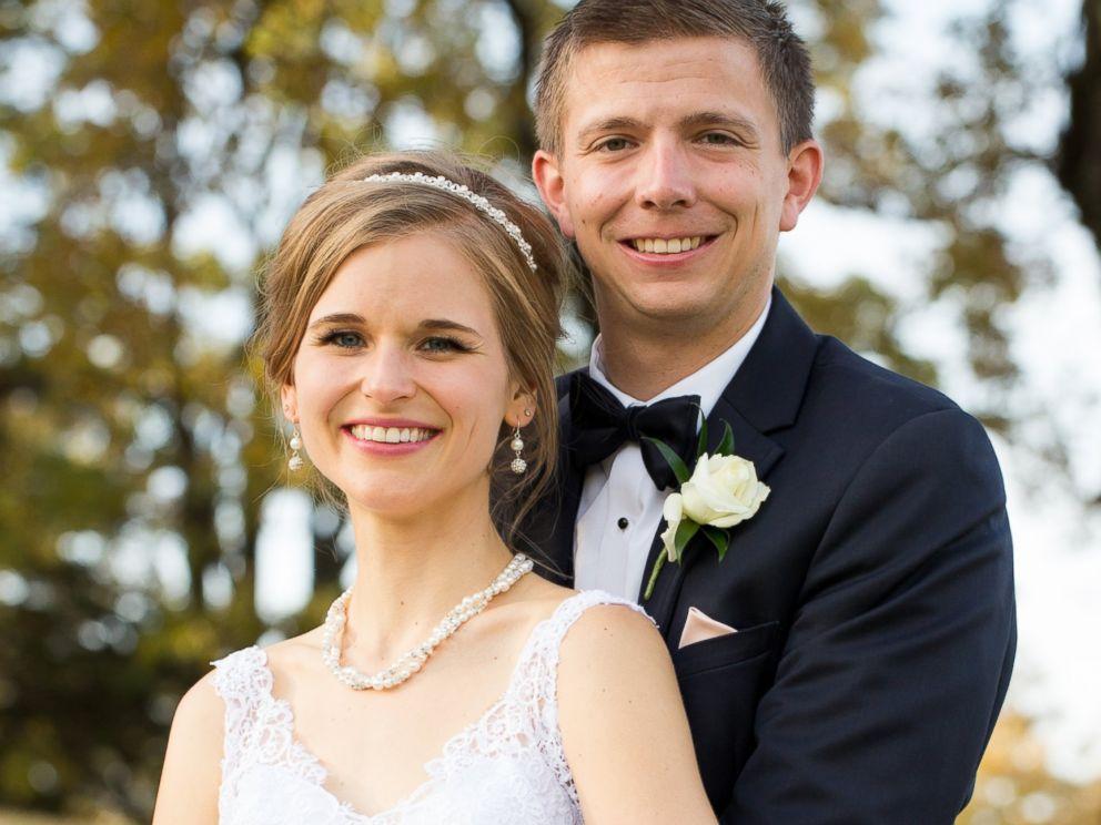 PHOTO:Greta Hokanson of Minnetonka, Minn. pictured with her husband Tony Hokanson on Oct. 10, 2015, their wedding day, . Honkanson was diagnosed with leukemia on Sept. 1, 2006 but received a bone marrow transplant in 2007.