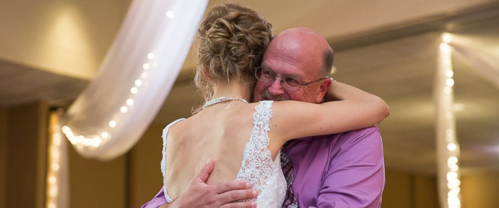 PHOTO:Greta Hokanson of Minnetonka, MN had a special wedding dance with Danny Daniels, the man who saved her life with his bone marrow donation.
