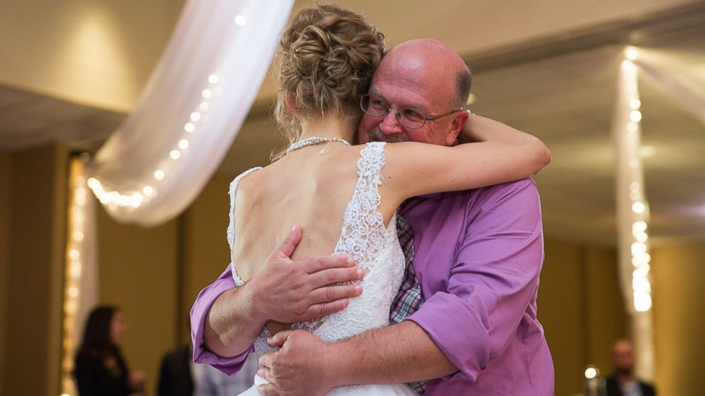 Greta Hokanson of Minnetonka, Minn. had a special wedding dance on Oct. 10, 2015 with Danny Daniels, the man who saved her life with his bone marrow donation.