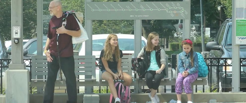 PHOTO: The video shows multiple peoples reactions as they witness a child being bullied by her classmates.
