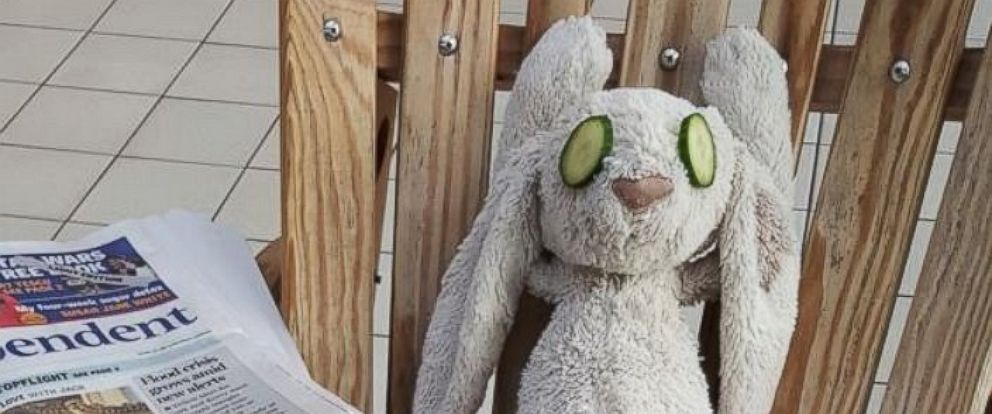 PHOTO: A stuffed bunny got the hotel stay of a lifetime after 3-year-old Kate left him at Adare Manor Hotel in Ireland.
