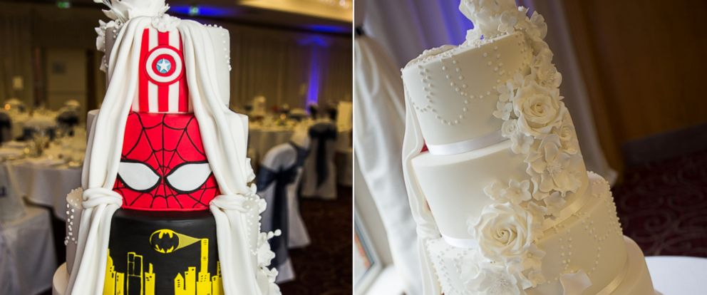 Double Take\' Superhero Wedding Cake Is One-of-a-Kind - ABC News