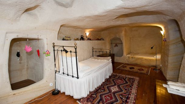 The Coolest Cave Rooms In Cappadocia Abc News