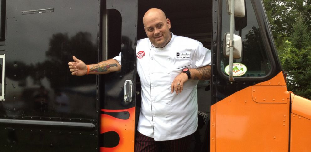 "PHOTO: Chef Rocco Whalen of Cleveland, Ohio, was a contestant on The Food Networks ""Fat Chef."""