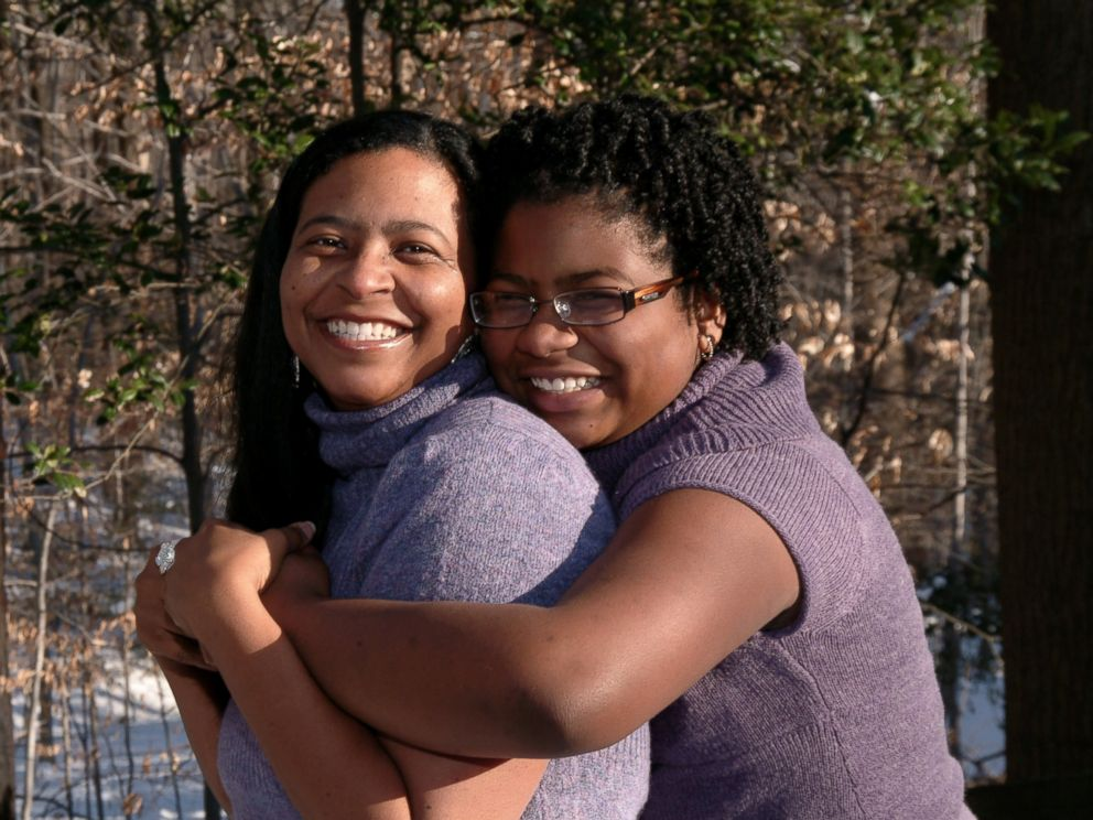 PHOTO: Chenise L. Williams with her daughter, Imani. The two are both descendants of the late voting enthusiast, Albert Patrick.