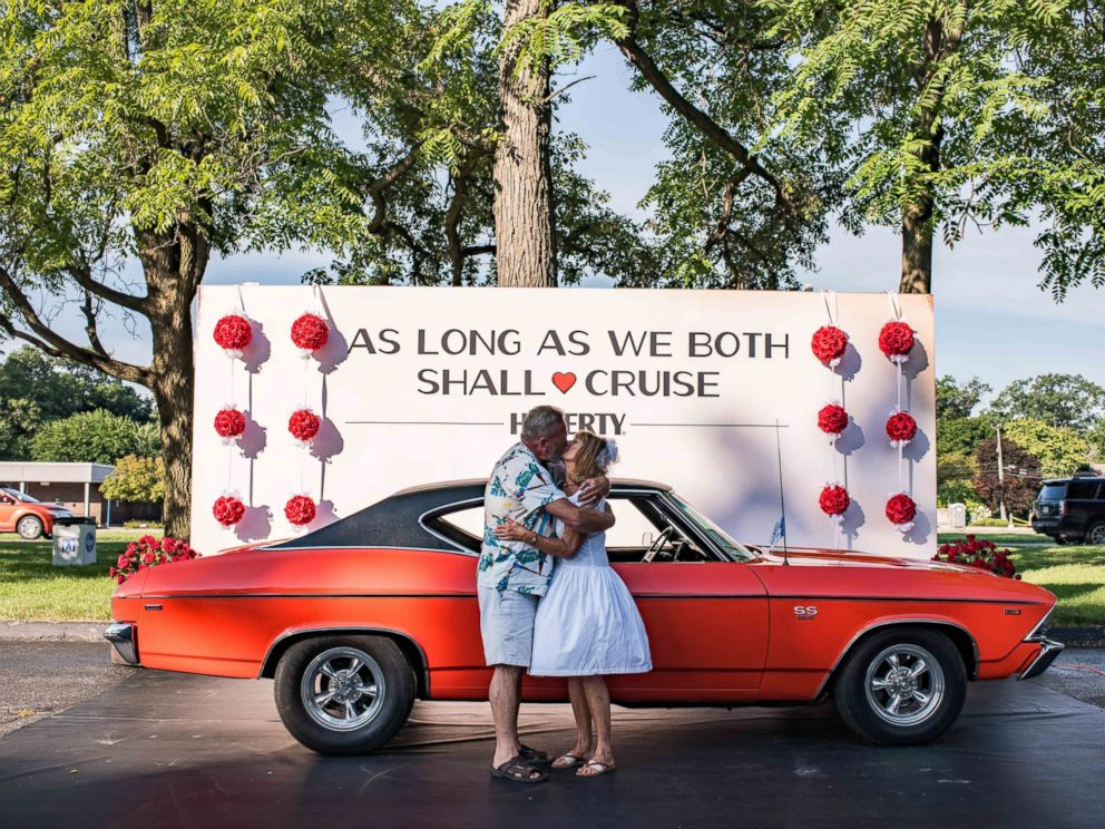 Couples Renew Wedding Vows in Classic Cars: \'As Long As We Both ...