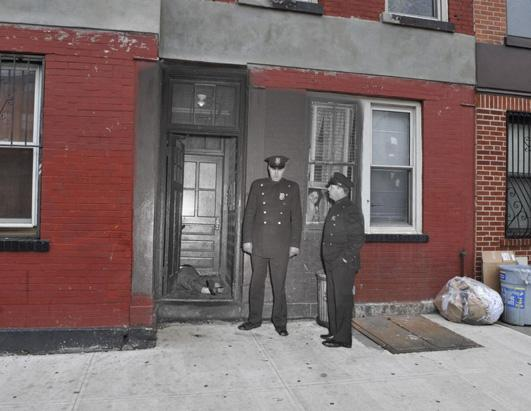 Shocking NYC Crime Scenes Locations Then and Now Picture | Scenes of