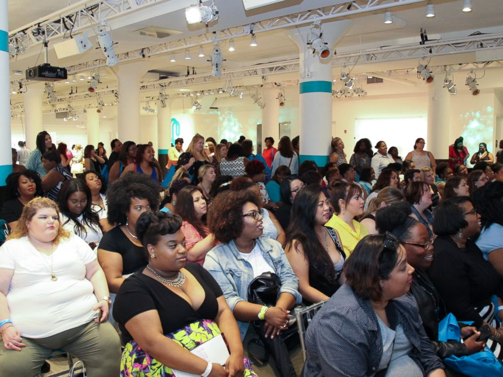 PHOTO: Roughly 500 women attended The Curvy Con, flying in from all over the world.