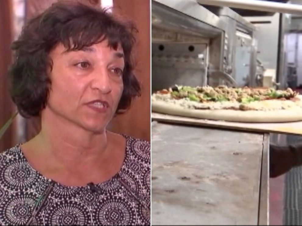 PHOTO: Italian restaurant owner Donna DeNicola offered free pizza for life to the owners of the home she just bought in Portland.