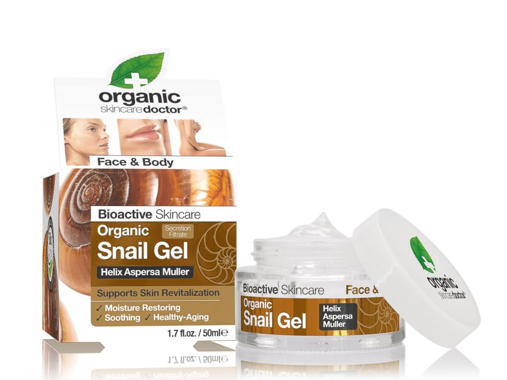 Snail Slime Sliding Into Skin Care Products - ABC News