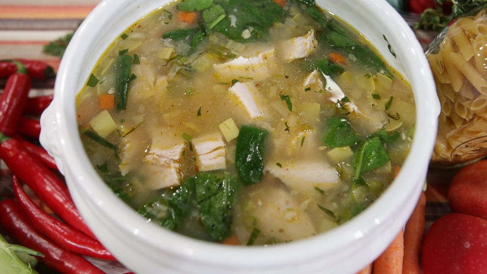 Turkey and Rice Soup with Vegetables Recipe | Emeril Lagasse ...