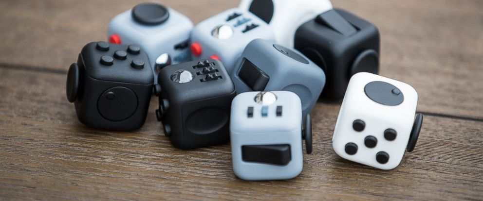 "PHOTO: The ""Fidget Cube"" Kickstarter campaign has attracted over 100,000 backers."