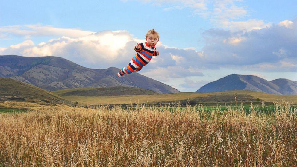 """Will """"flies"""" through the fields."""