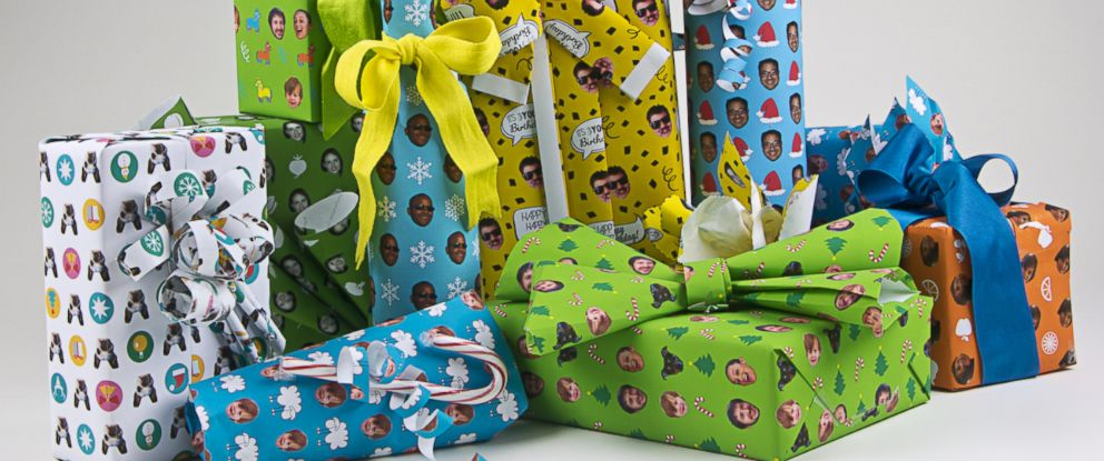 PHOTO: Giftwrapmyface.com lets you customize your gift wrap with any image you choose.