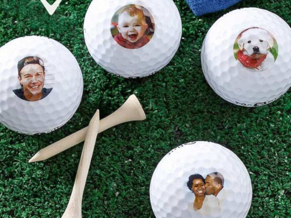 PHOTO: These golf balls are sure to score a few raised eyebrows, if not points.