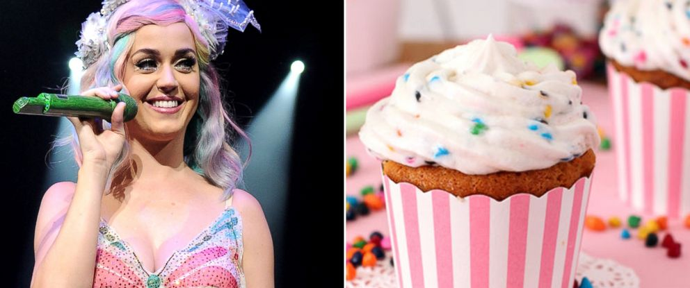 PHOTO: Katy Perry, seen left on June 24, 2014 in Washington, tweeted at Betty Crocker when she couldnt find Rainbow Chip Frosting.