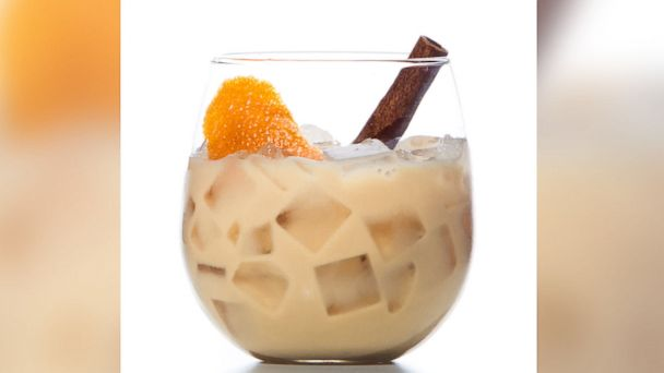 PHOTO: The Horchata Coffee Cocktail is shown here.