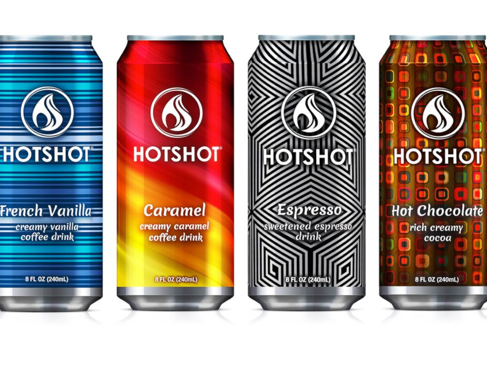 PHOTO: HotShot coffee in a can is stored hot for up to four months.