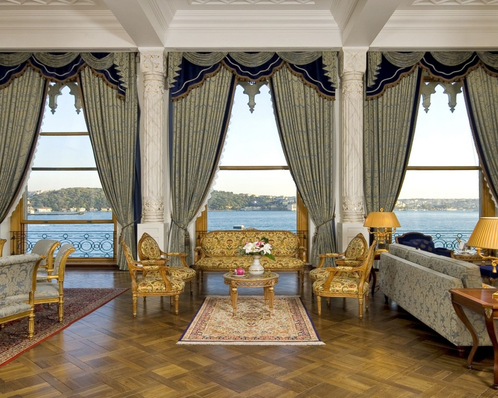 Hotel Suite of the Week: Sultan Suite at Ciragan Palace Kempinski Istanbul  Photos - ABC News