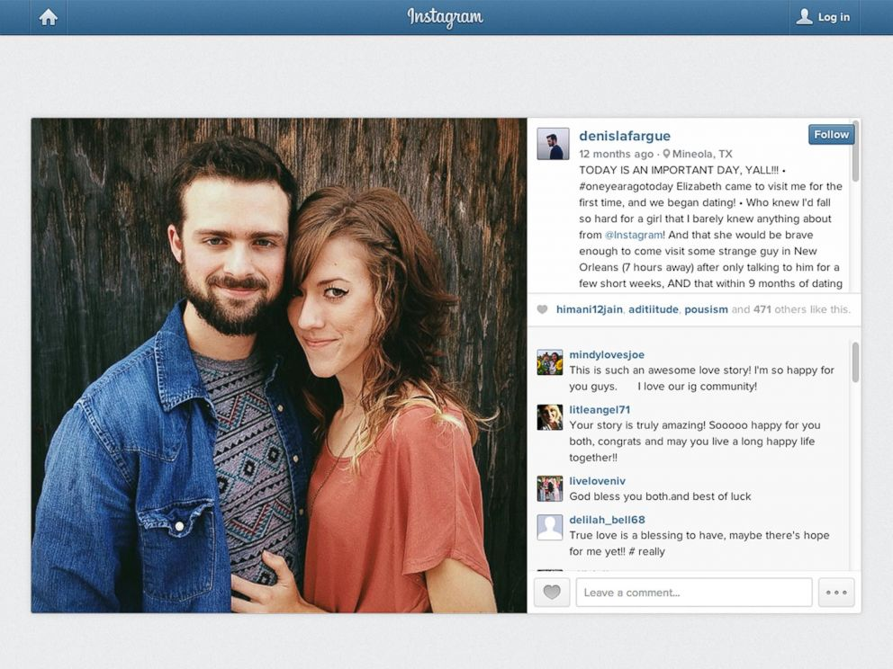 Couple That Fell In Love Over Instagram Weds Abc News