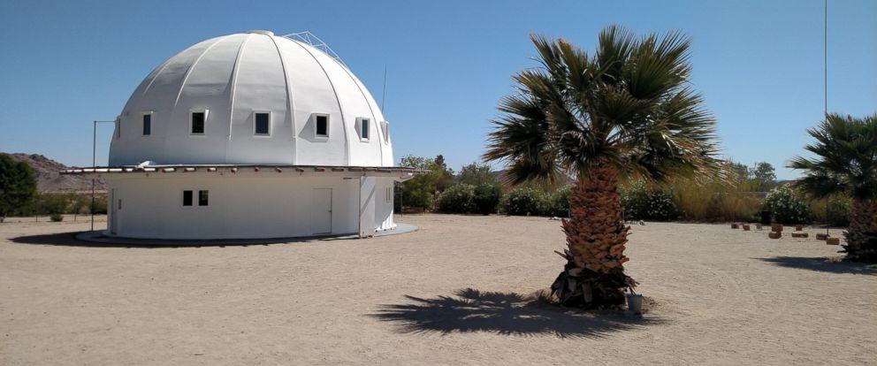 PHOTO: The Integratron is a sound bath destination located in Landers, California.