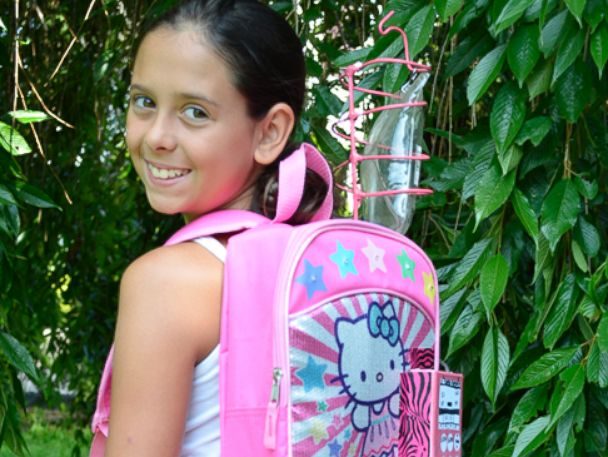 11-Year-Old Cancer Survivor Kylie Simonds Invents IV Backpack - ABC News ffa6098ef44e8