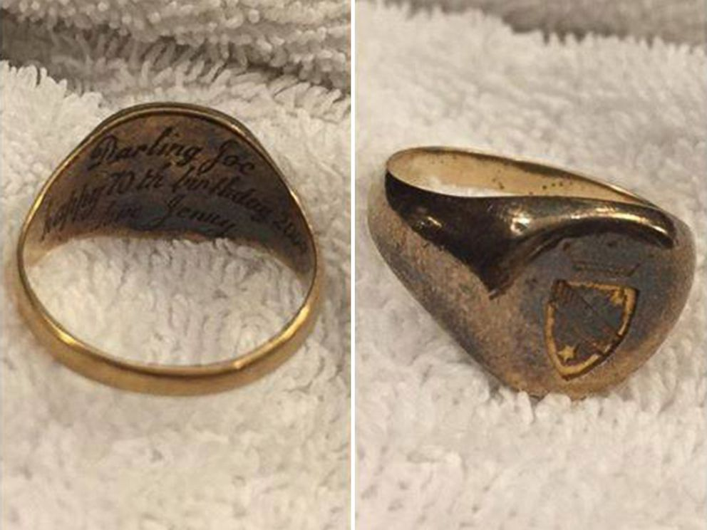 Photo An Image Posted To The Find Joe And Jenny Facebook Page Shows A Ring