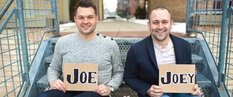 PHOTO: Joe Morales and Joey Famoso made an adoption video that went viral.