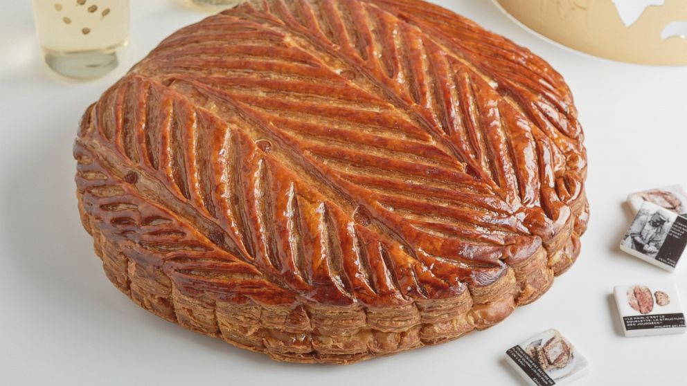 The King's Cake/Galettes des Rois at Maison Kayser no longer is sold with a trinket baked inside. But one can be, upon request.