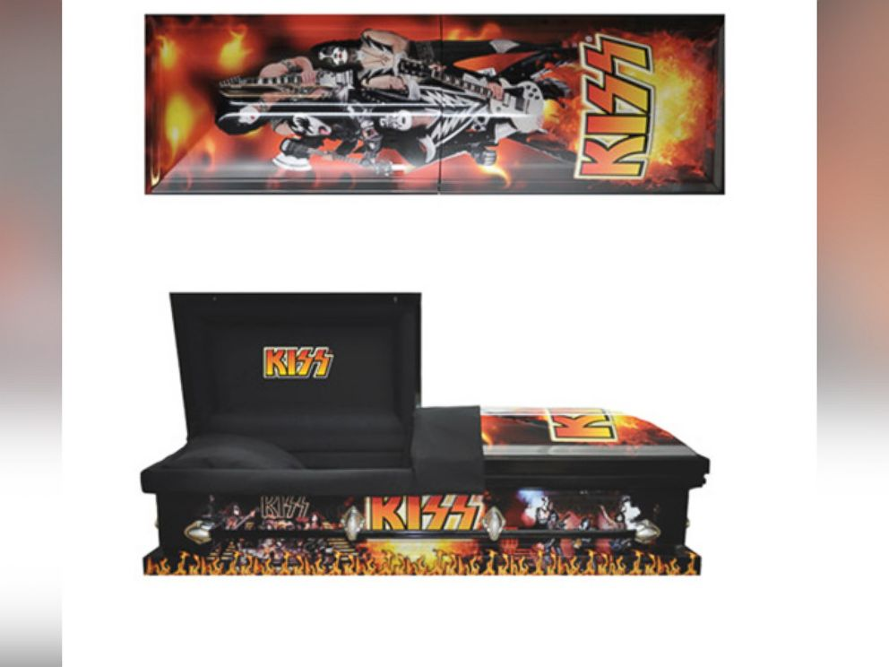 PHOTO: In this file photo, a Premium KISS Casket is pictured.
