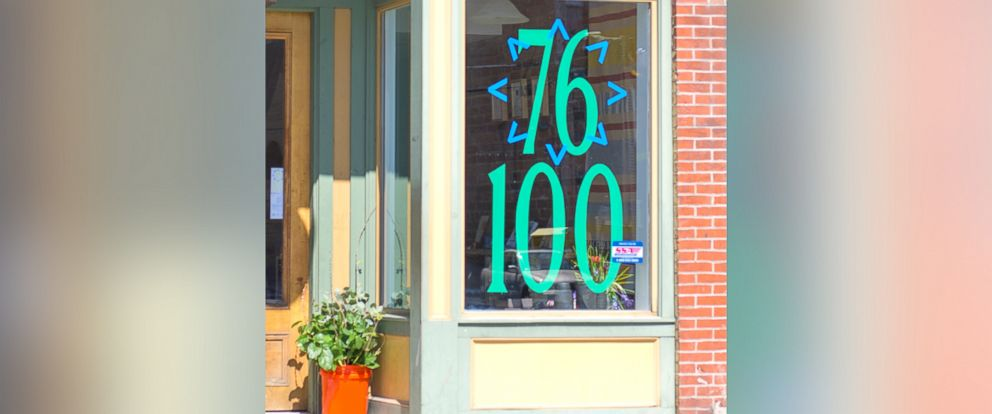 PHOTO: Less Than 100 is a traveling pop-up shop that charges men more than women to shine a light on the gender wage gap.
