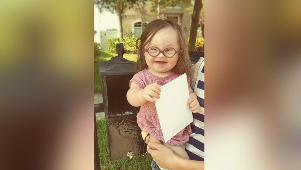 Mom and Baby With Down Syndrome Mail Letter to Doctor Who