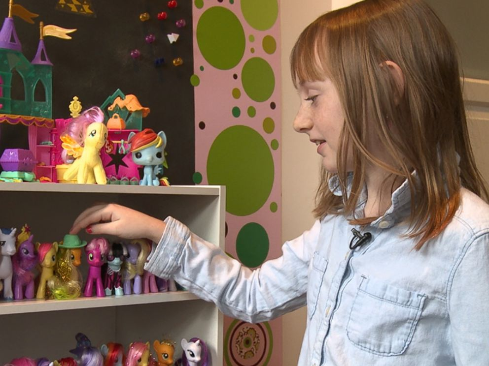 PHOTO: Chelsea McDonough, 11, is a fan of the My Little Pony TV series.