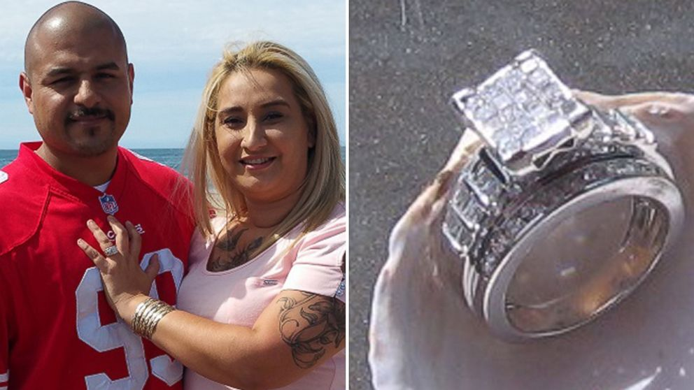 Woman S Lost Diamond Wedding Ring Found By Man She Calls A Gift