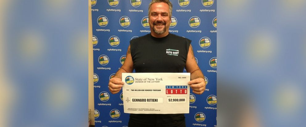 New York Man Finds $2 9 Million Winning Lotto Ticket in His Truck
